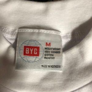 Highlevel BYC Shirts - Shameless white Tshirt new never worn sz. Medium